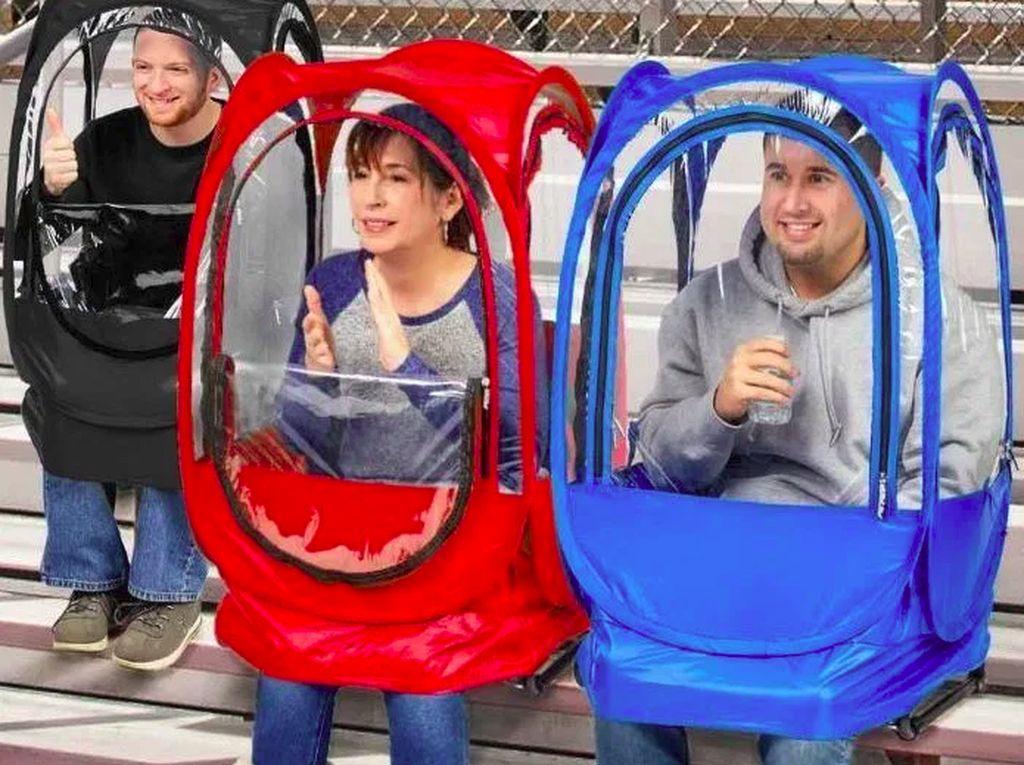 Tenda Mini Ini Bisa Jadi Alternatif Masker Wajah untuk Cegah Virus Corona?