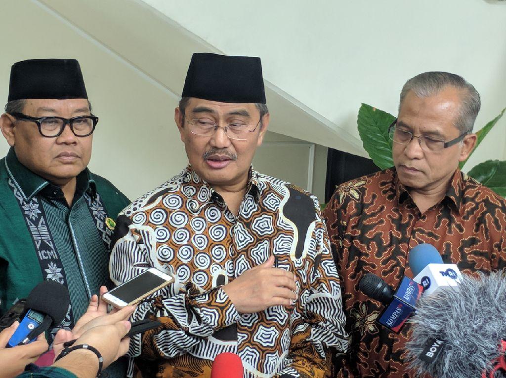 ICMI Usul Wapres Maruf Adakan Forum Internasional Tokoh Agama di Indonesia