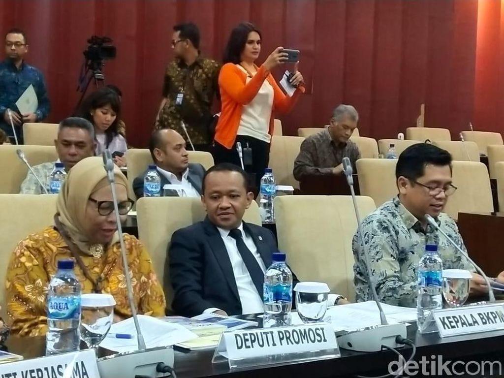 Bahlil Merapat ke DPD Bahas RUU Penanaman Modal Daerah