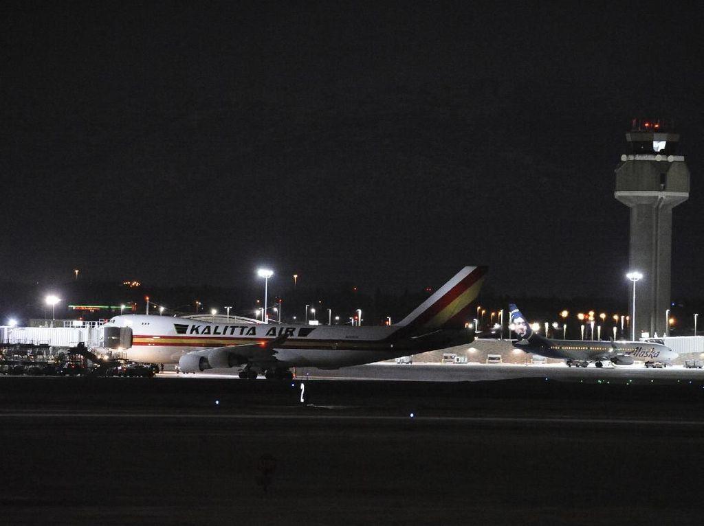 AS Kembali Evakuasi 300 Orang dari Pusat Wabah Corona dengan 2 Pesawat