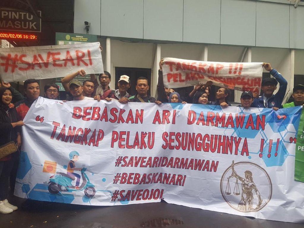 Pengacara Sopir Taksi Online Ari Darmawan Ancam Tuntut Balik Korban
