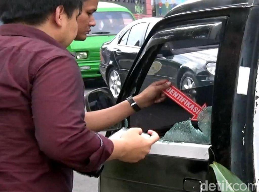 Pecahkan Kaca Mobil, Pencuri Gondol Uang Rp 100 Juta Milik Kontraktor