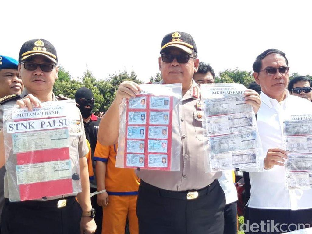Sindikat Ranmor, Penadah hingga Pemalsu STNK Dibongkar, 42 Kendaraan Diamankan