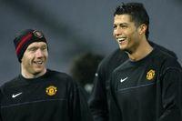 Paul Scholes dan Cristiano Ronaldo