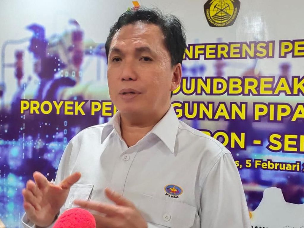 Ada Pipa Transmisi Cirebon-Semarang, BPH Migas: Tumbuhkan Industri