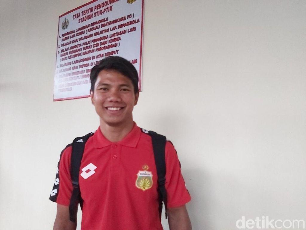 Faktor Keluarga Jadi Salah Satu Alasan Jupe ke Bhayangkara FC