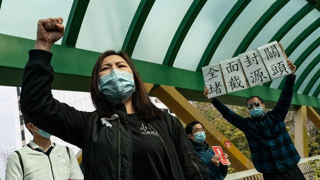 Staf Medis Hong Kong Tuntut Perbatasan China Ditutup Imbas Corona