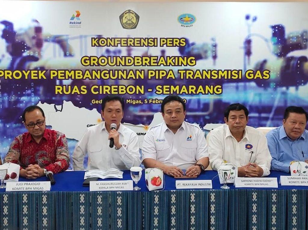 BPH Migas: Rekind Siap Bangun Proyek Pipa Cirebon-Semarang Rp 2,3 T