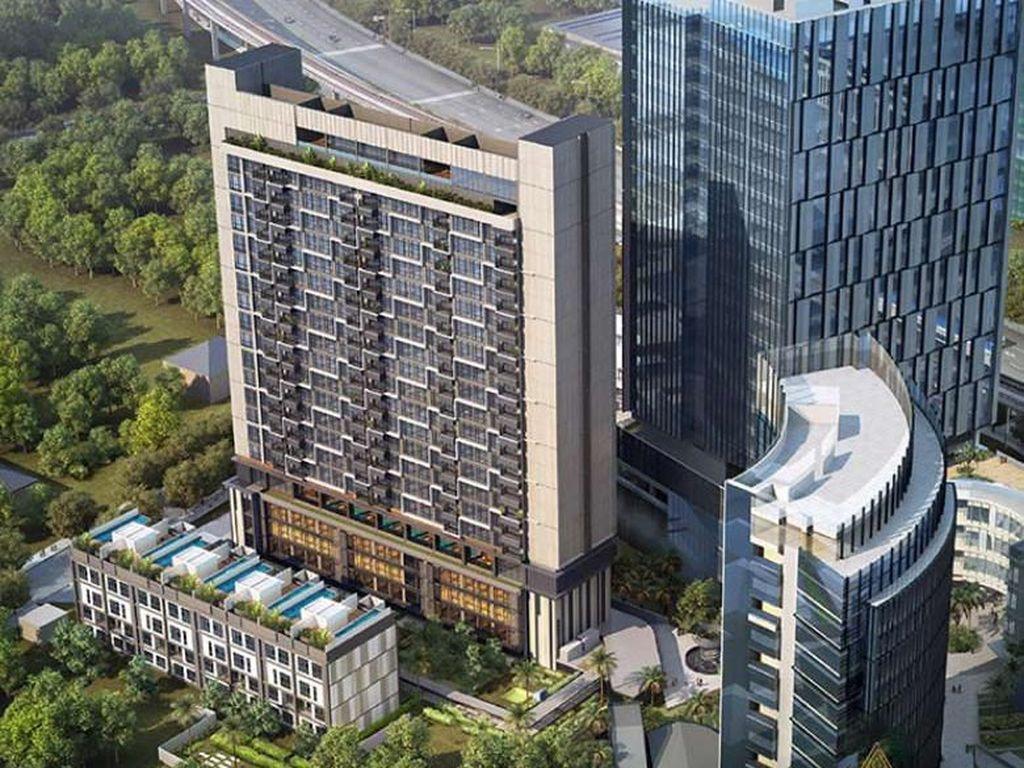 Apartemen Mewah Astra-HongkongLand, Dekat Stasiun MRT, Cicilan 5 juta!
