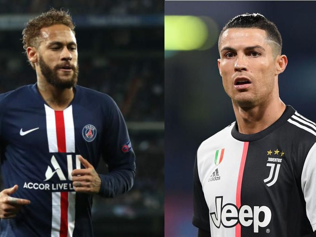 Ulang Tahun Bareng: Neymar Pesta Pora, Ronaldo Cari Cuan