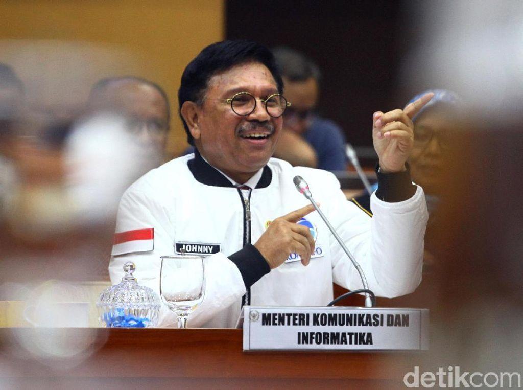 Menkominfo: Program Indonesia Merdeka Sinyal 2020 Tak Relevan Lagi