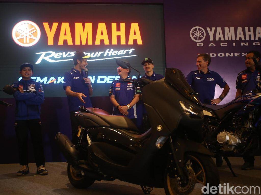 Harga Yamaha Nmax Connected ABS Mepet PCX, Ini Komentar Honda