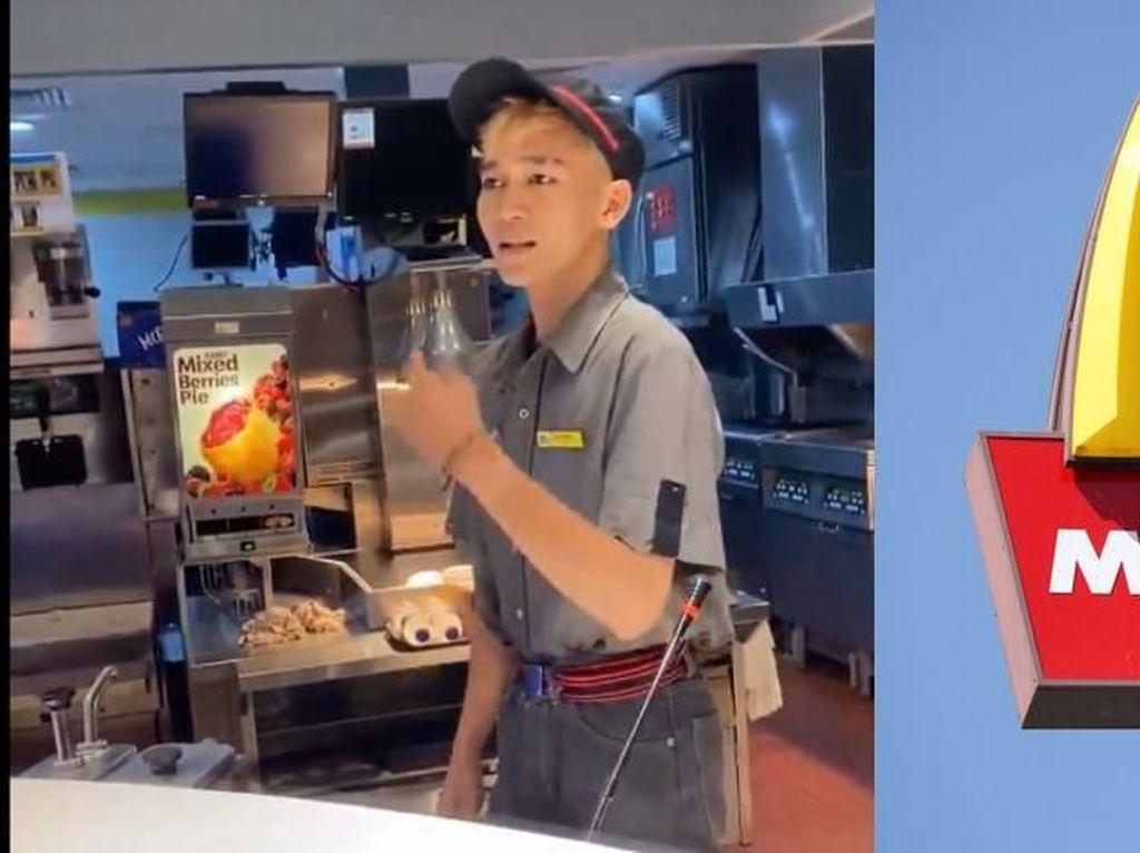 Videonya Viral, Ini Nasib Pelayan yang Lakukan Penipuan di McDonalds Senayan