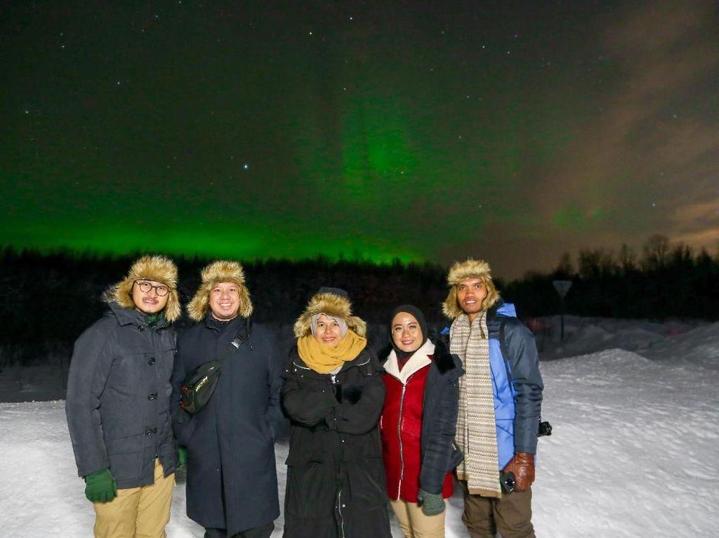 Cerita Backpacker Berburu Aurora di Tengah Wabah Virus Corona