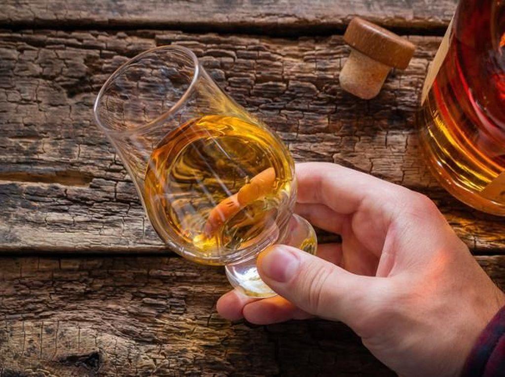 Korban Virus Corona Ini Klaim Sembuh dengan Minum Whisky Plus Madu