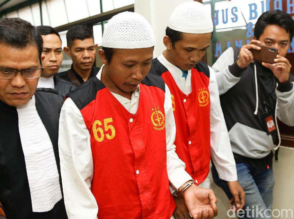 2 Eksekutor Kasus Pembunuhan Pupung-Dana Diancam Hukuman Mati