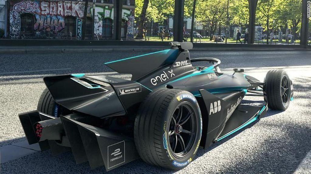 Lihat Kembali Tampang Mobil Balap Formula E