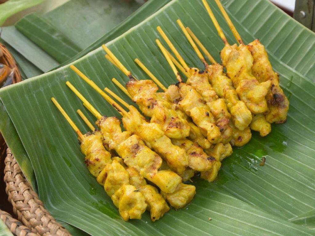 Resep Pembaca : Satai Ayam Bumbu Rempah Kuning