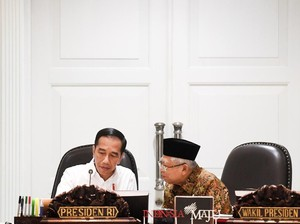 Survei Litbang Kompas: 45,2% Puas Kinerja Jokowi-Maruf, 52,5% Tak Puas