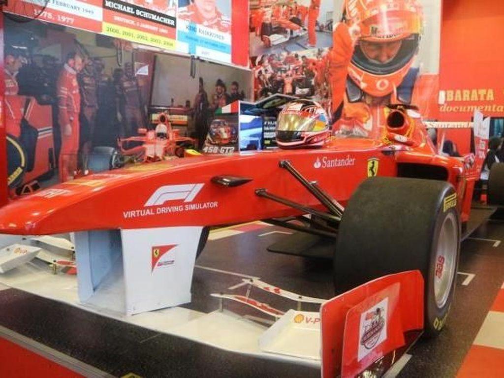 Asyik! Di Museum Angkut, Kita Bisa Jadi Pembalap F1