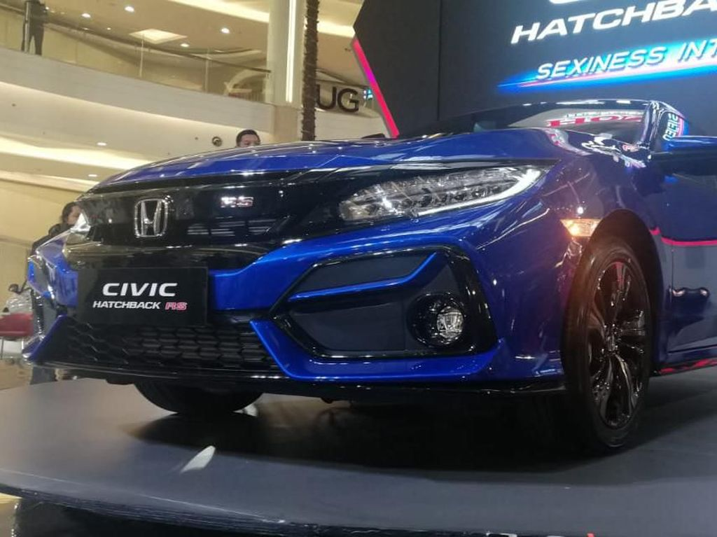Seberapa Sporty Honda Civic Hatchback RS?