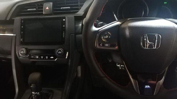 Interior New Honda Civic Hatchback