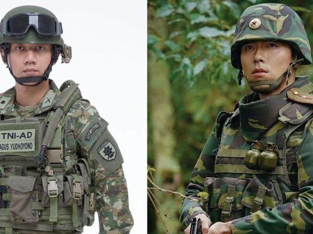Annisa Pohan Bandingkan AHY dan Hyun Bin, Netizen Pilih Siapa?