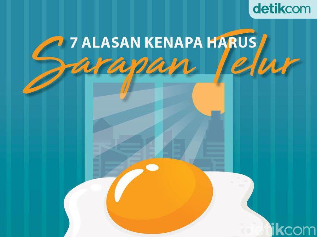 7 Alasan Kenapa Harus Sarapan Telur Pagi Ini