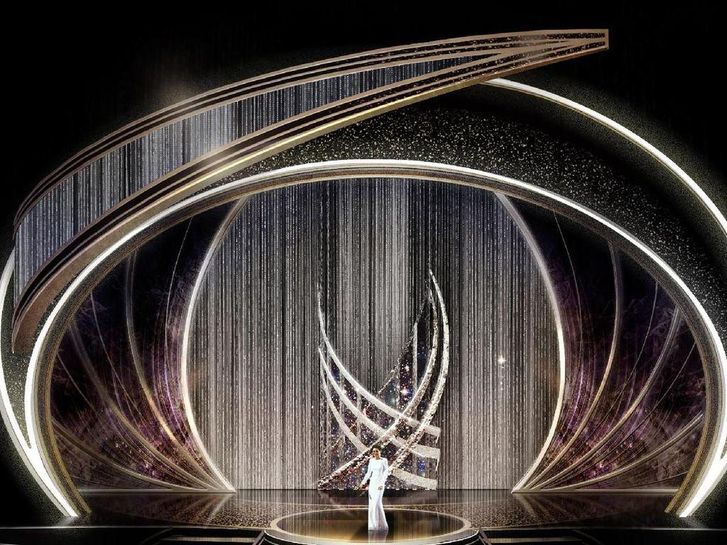 Mewah! Panggung Oscar 2020 Dihiasi 40 Ribu Swarovski