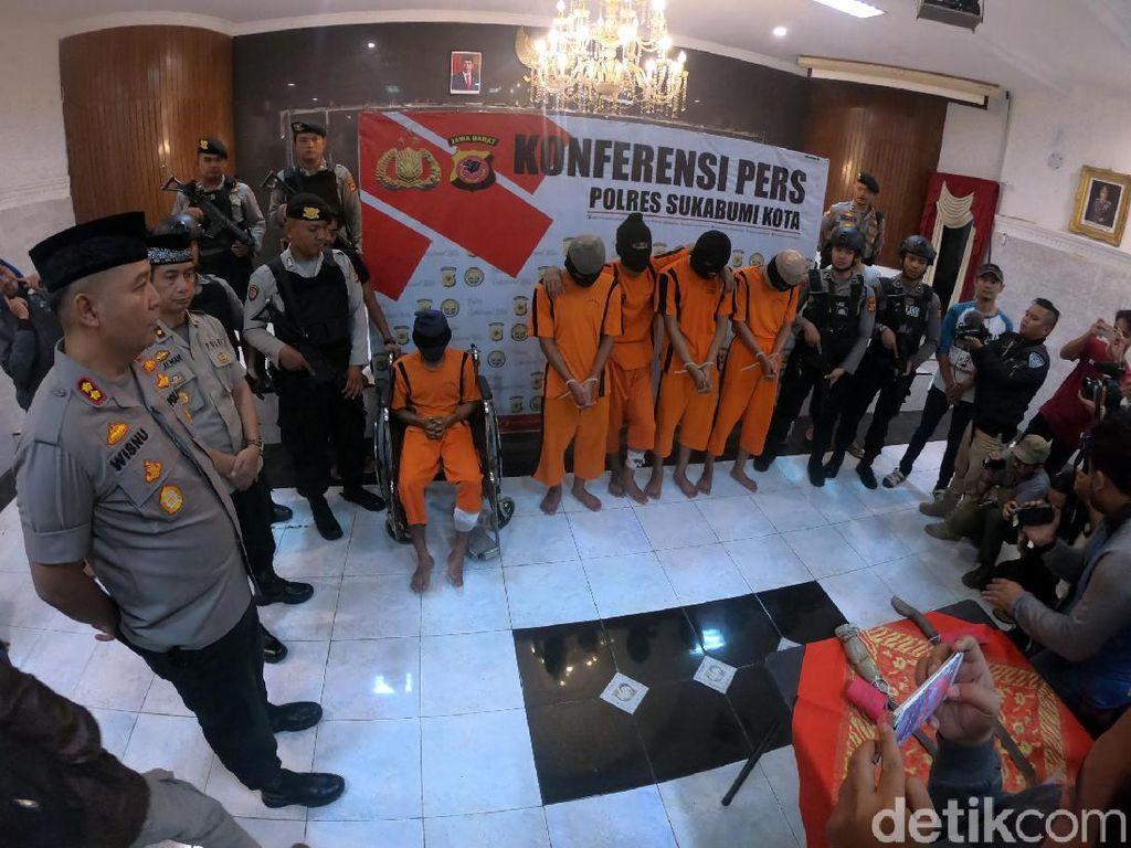 Polisi Ungkap Motif Gerombolan Bermotor Aniaya Anak Petinggi PP Sukabumi