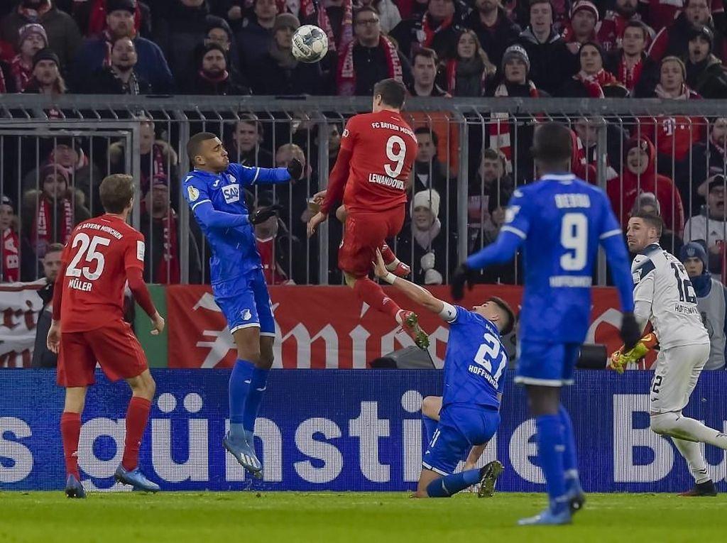 DFB Pokal: Bayern Kalahkan Hoffenheim 4-3, Lolos ke Perempatfinal