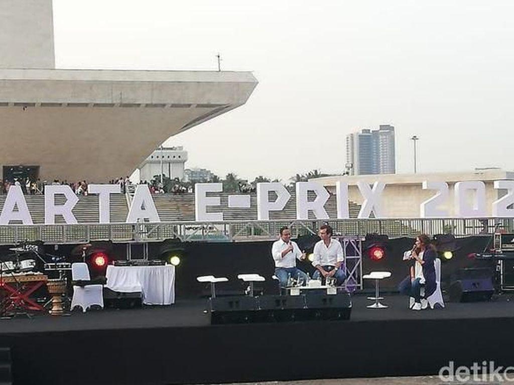 Jakpro :Sirkuit Formula E Cuma Butuh Dua Bulan Membangun
