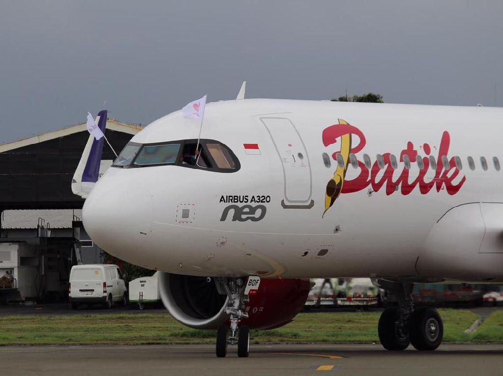Batik Air Datangkan Pesawat Baru, Airbus 320-200 Neo