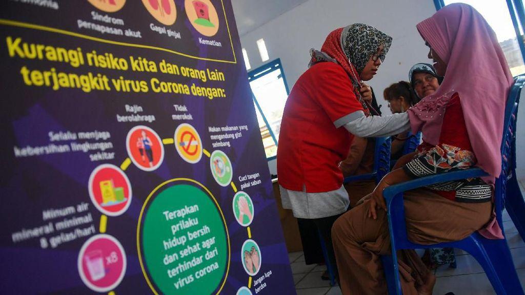 Aksi PMI Sosialisasi Cegah Virus Corona di Natuna