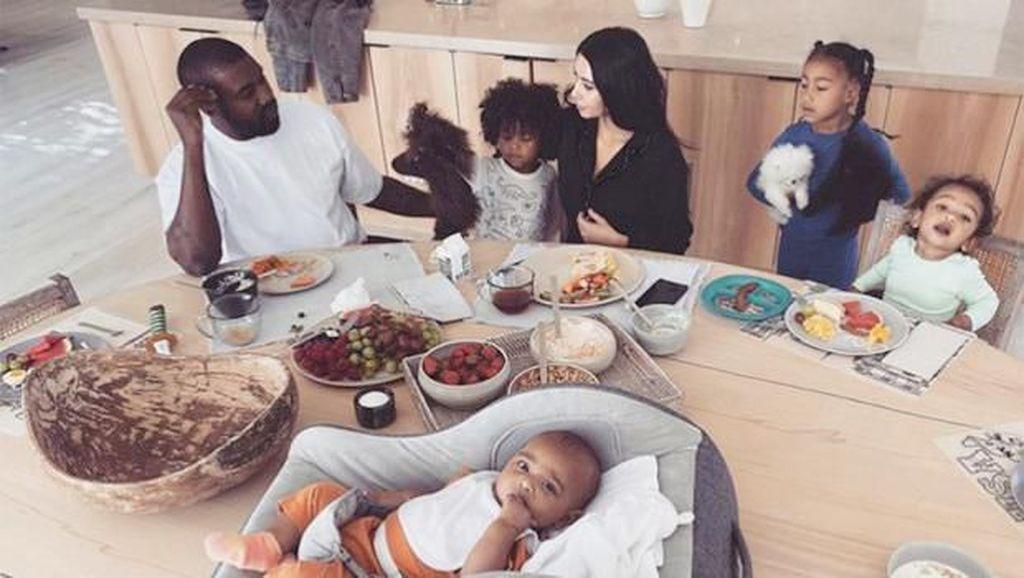 Intip Rumah Minimalis Rp 817 M Kim Kardashian dan Kanye West