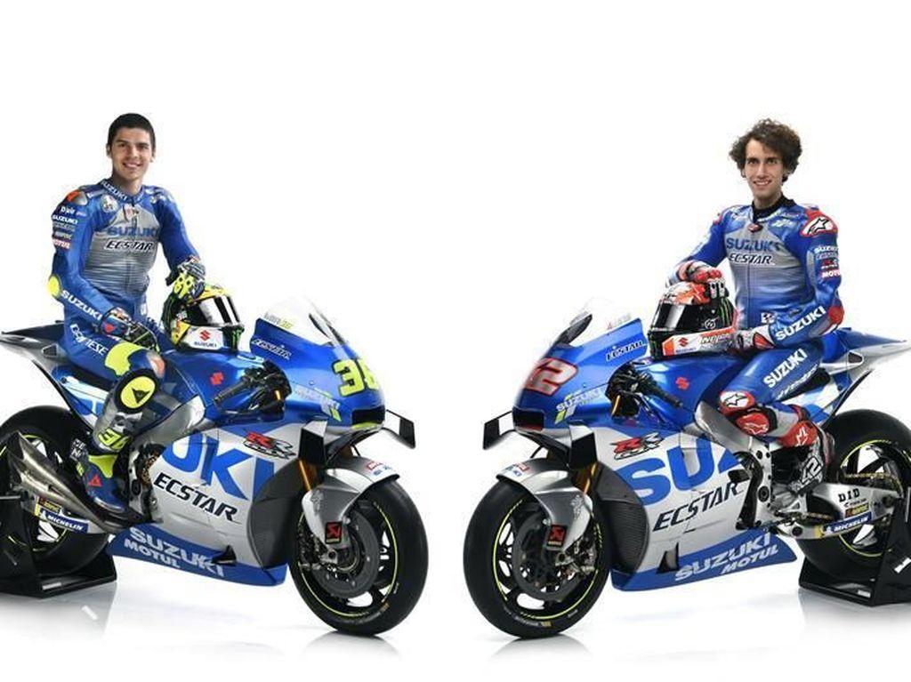 Suzuki Luncurkan Motor MotoGP, Tampil Beda Bergaya Klasik