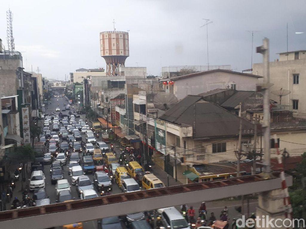 110 Titik Jalan di Medan Disekat Saat Malam Takbiran, Ini Daftarnya