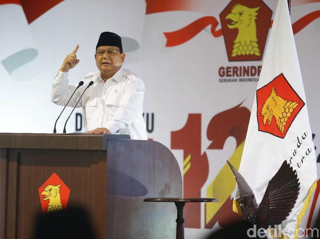 Jadi Menteri Terbaik di Sejumlah Survei, Prabowo Malah Waswas