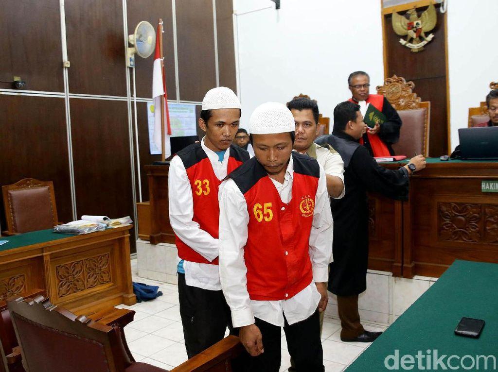 Didakwa Pembunuhan Berencana, 2 Eksekutor Pupung-Dana Tak Ajukan Eksepsi