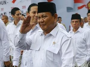 Prabowo Menang Survei Capres, Gerindra: Pilpres 2024 Masih Jauh