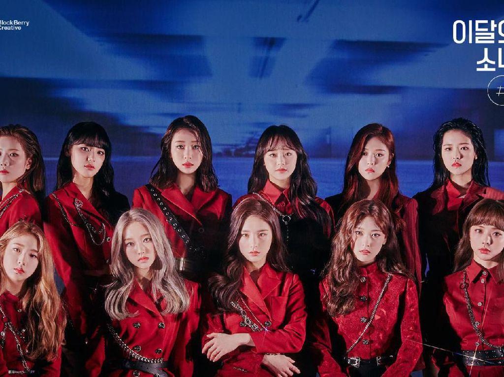 Album # LOONA Pecahkan Rekor Girlband K-Pop di Chart iTunes