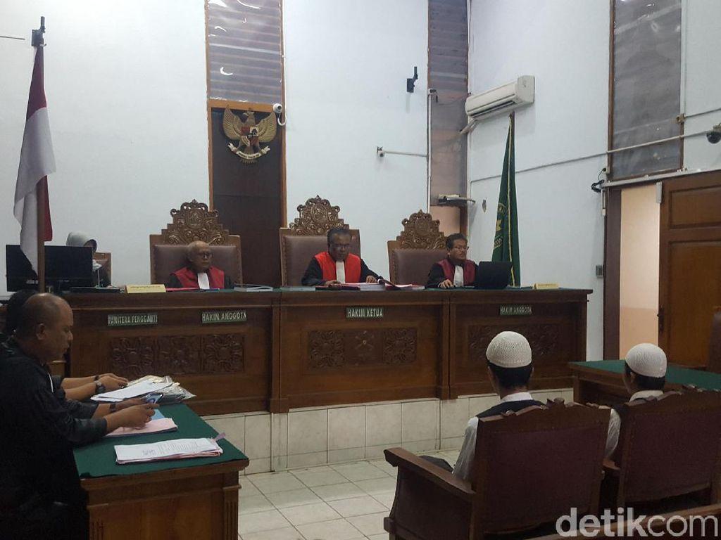 Dua Eksekutor Pupung-Dana Didakwa Lakukan Pembunuhan Berencana