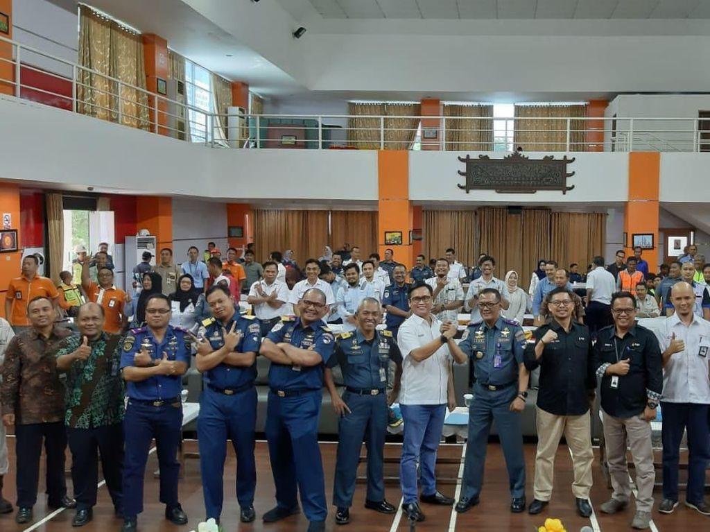 Bulan K3, Kemenhub Ingatkan Budaya Keselamatan Kerja di Pelabuhan