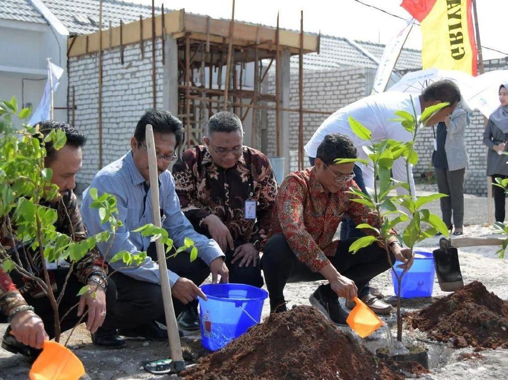 Tanam Pohon Hijaukan Lingkungan