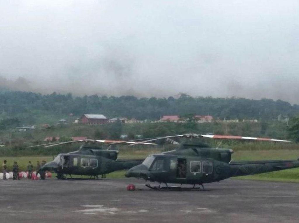 Cuaca Buruk, Tim Pencari Batal ke Lokasi Diduga Heli MI-17