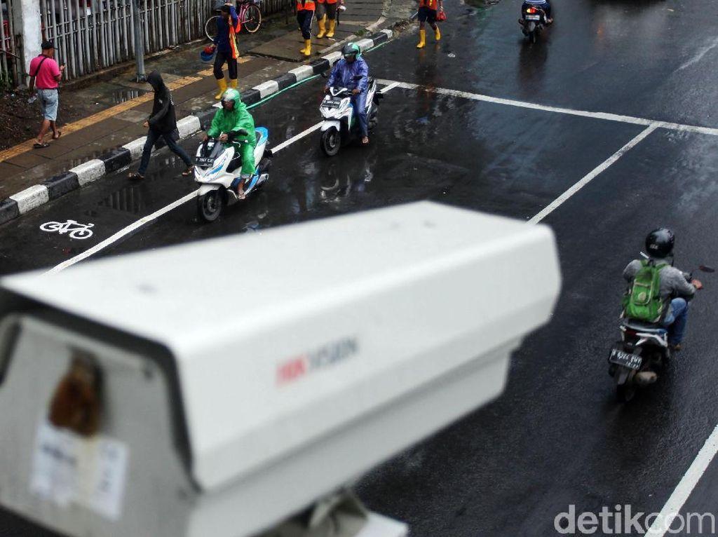 1.201 Pemotor Kena Tilang Elektronik Selama Sepekan, Mayoritas Terobos Busway