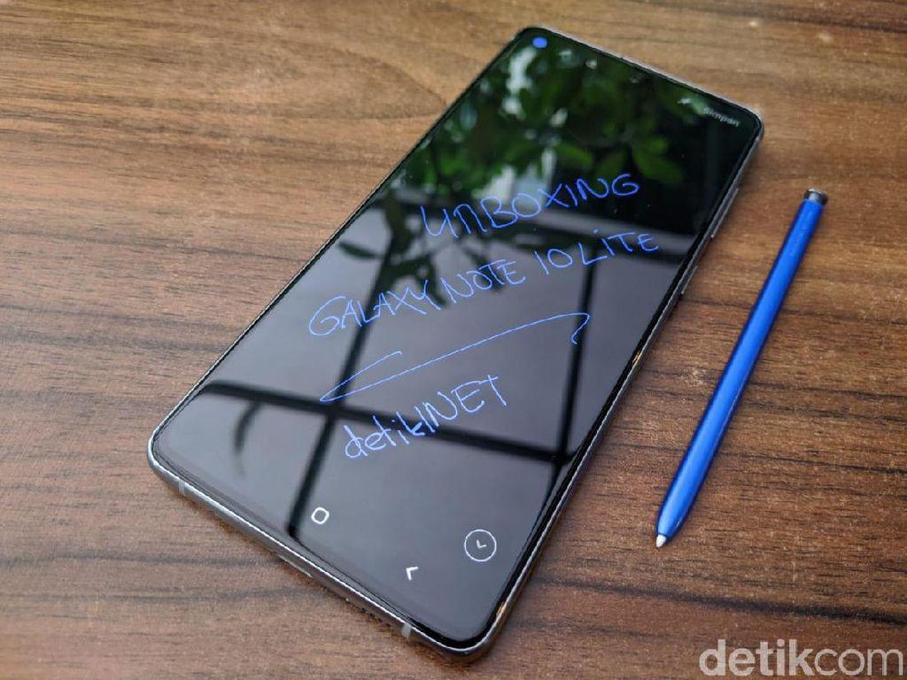 Lebih Intim dengan Galaxy Note 10 Lite