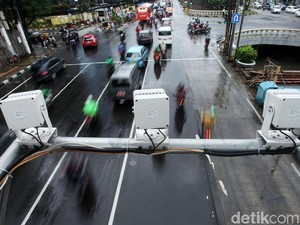 Tilang Elektronik di Jakarta Ikut Tekan Penyebaran Virus Corona