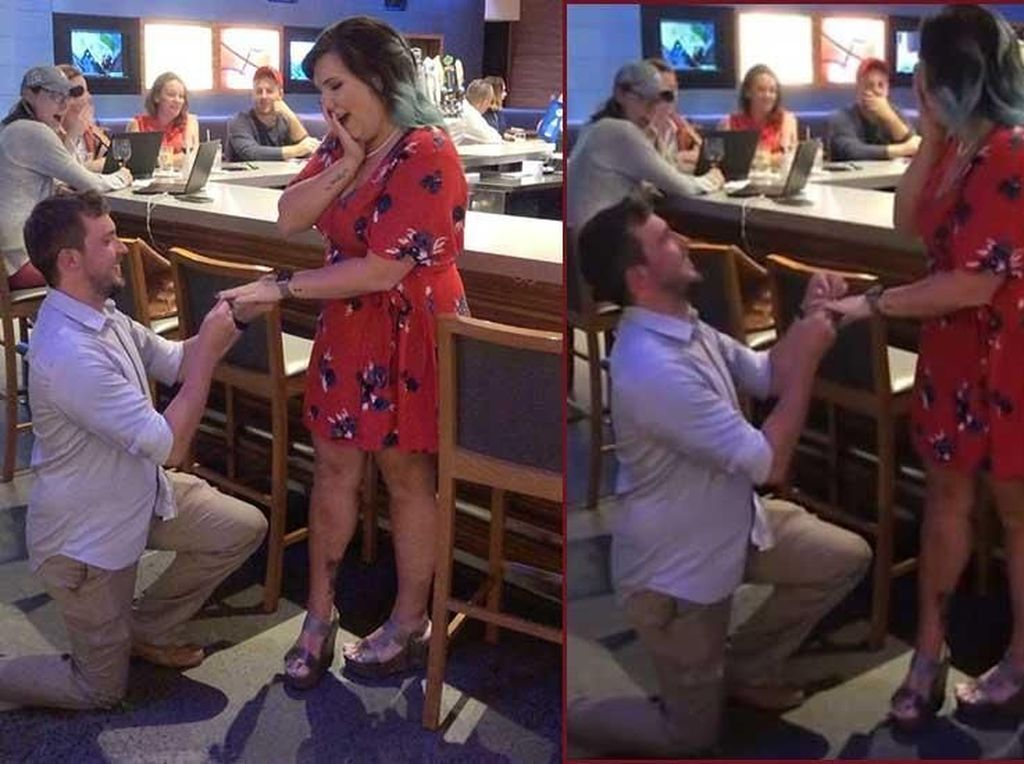 Demi Minuman Gratis, Pria Ini Pura-pura Lamar Kekasihnya di Restoran