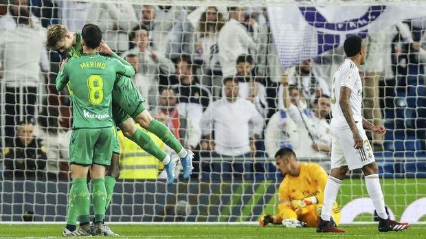 Lihat Madrid Hancur, Bale Tinggalkan Stadion